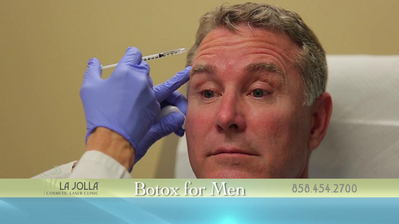 Botox For Men La Jolla Cosmetic Laser Clinic Youtube