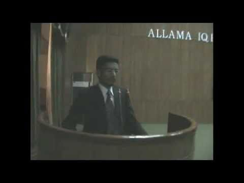 ABDUL BASIT urdu speech in allama iqbal medical college..zra nam ho tu ye matti bri zarkhaiz ha saqi