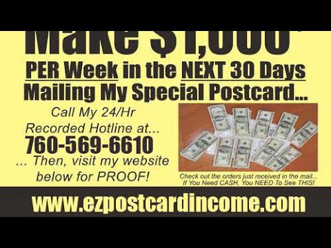 [EZ Profit 100 Direct Mail Program]- Home Business Opportunity-[Lead Lightning System]- TCP