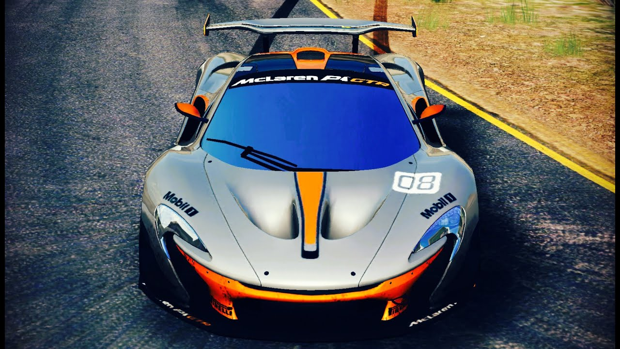 asphalt 8 mclaren p1 gtr 1716 wall ascent 55 143. Black Bedroom Furniture Sets. Home Design Ideas