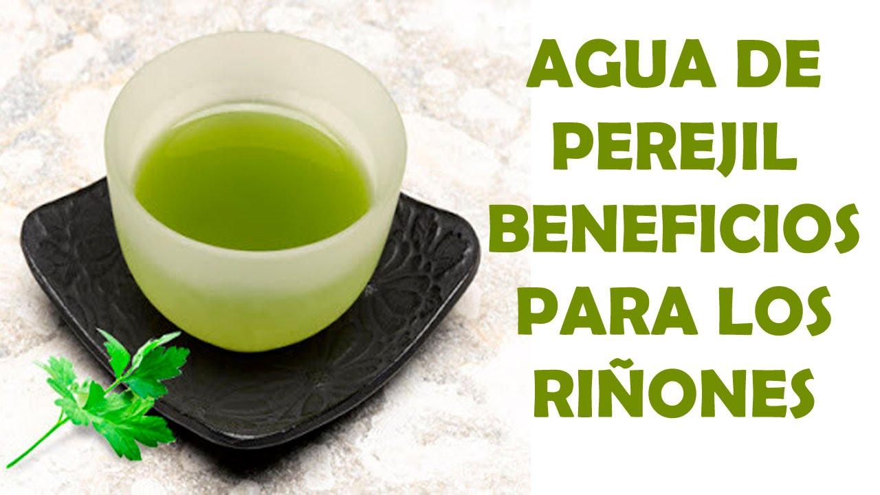 Agua de Perejil Beneficios para los Riñones - Como Limpiar