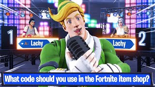 Bienvenue à mon Fortnite Quiz Gameshow!