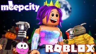 Decorating For Halloween | Roblox Meep City