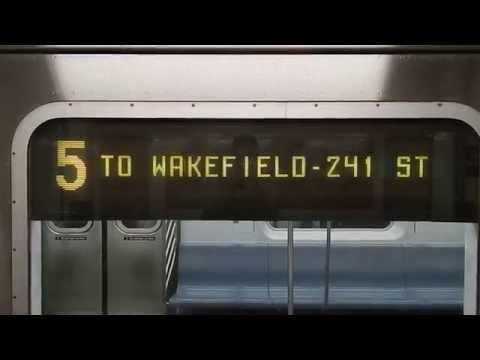 A little Wall Street (IRT Lexington Avenue Line) Action!