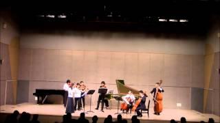J S バッハ 管弦楽組曲第2番 岡山大学教育学部音楽教育講座第61回定期演奏会