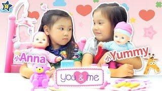 寶貝雙胞胎超可愛玩具 娃娃玩具分享 嬰兒搖籃玩具介紹