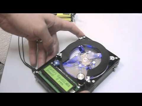 DIY HDD Hard Drive Centrifuge Hack