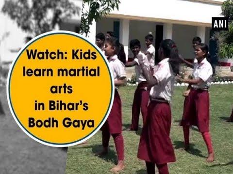 Watch: Kids learn martial arts in Bihar's Bodh Gaya - Bihar News