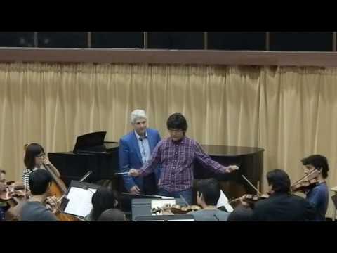 Peter Oundjian Conducting Masterclass