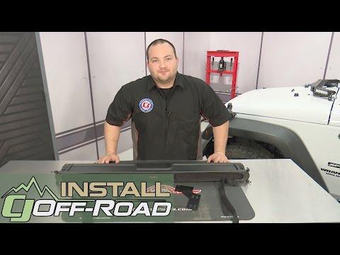 Rugged Ridge Tampa Console Central Preto para Jeep Wrangler Jk 2011-2018