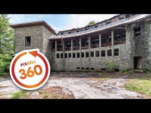 360 VIDEO: Uništena i u stanju totalnog propadanja Vila Izvor na Plitvicama