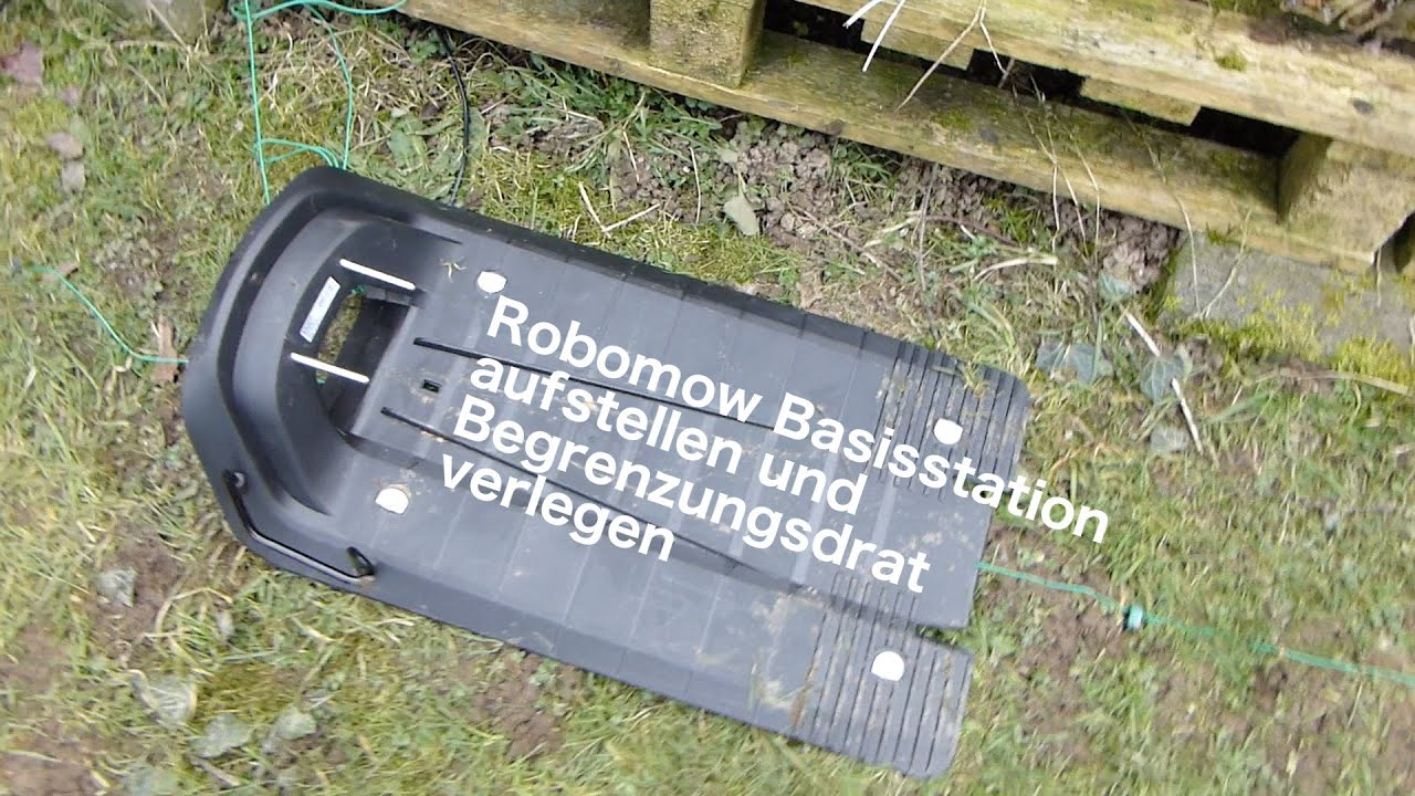 Rasenmäher Roboter Test 2016 : robomow rc308 test rasenm her roboter modell 2016 begrenzungskabel verlegen diy vlog 09 youtube ~ Watch28wear.com Haus und Dekorationen