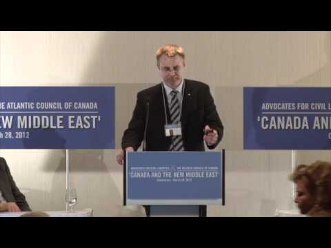 Panel I - Canadian Economic and Energy Interests in the New Middle East