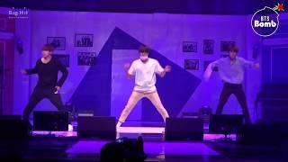 613 BTS HOME PARTY J-hope Dance cut - Unit stage '삼줴이(3J)' - BTS (방탄소년단)