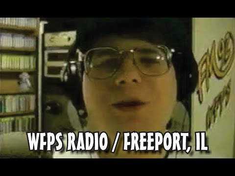 THROWBACK VIDEO: ME AND MY FRIENDS WORKING AT WFPS RADIO IN FREEPORT, IL (1995)