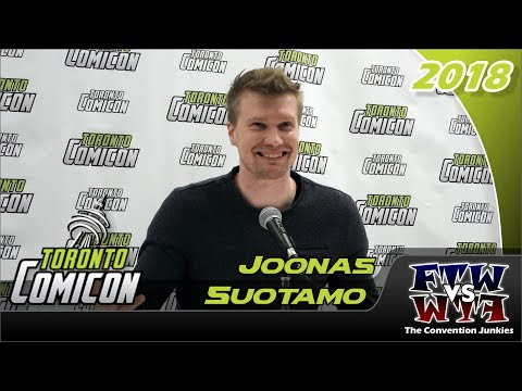 Joonas Suotamo (Star Wars / Chewbacca) Toronto ComiCon 2018 Full Panel