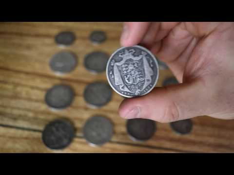 Showing off my old UK coins - 200 year old silver coins!
