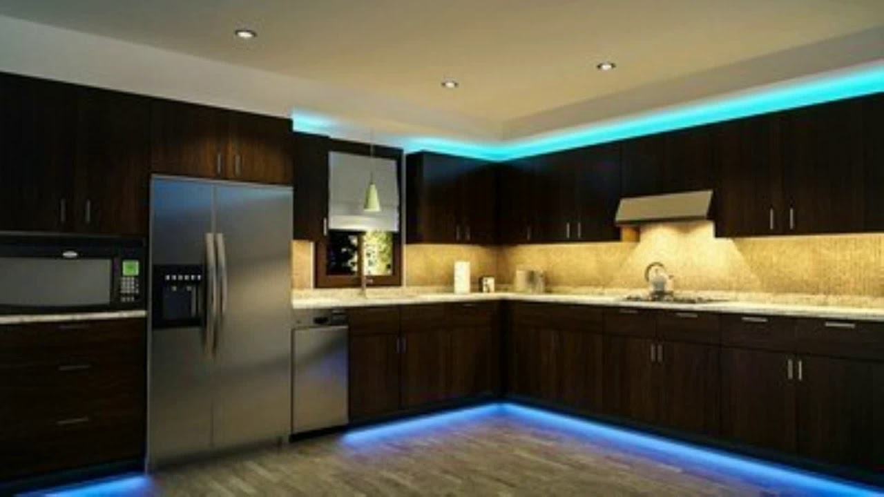 eclairage led sous meuble cuisine youtube. Black Bedroom Furniture Sets. Home Design Ideas