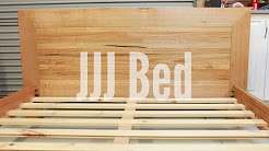 Sounds of the workshop - Building a queen bed (101)