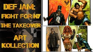 Def Jam: Fight For NY -The Takeover- Art Kollection