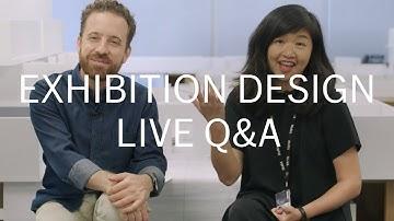 LIVE Q&A with MoMA Exhibition Designers (Nov 14)