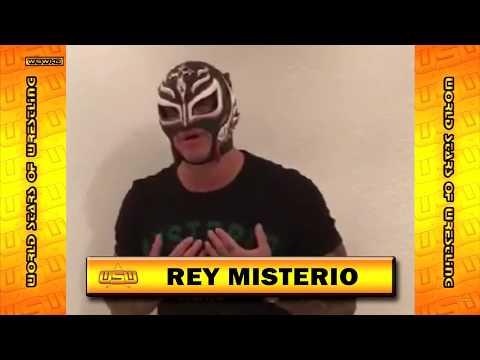 WSW World Tour Brasil - Promo Rey Mysterio