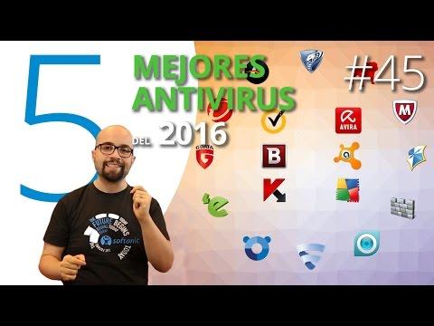 Los mejores 5 antivirus del 2016 - 5 Apps
