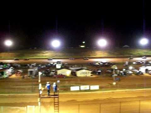Stock 4 Main part 1 ( 7 31 09) Cleveland County Speedway