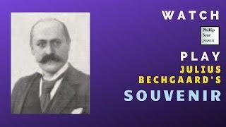 Julius Bechgaard: Souvenir