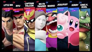Super Smash Bros Ultimate Amiibo Fights Request #502 We don't need to workout to SMASH