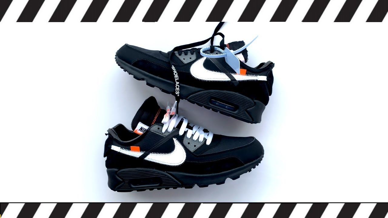 Off White Nike Air Max 90 Lace Swap Youtube
