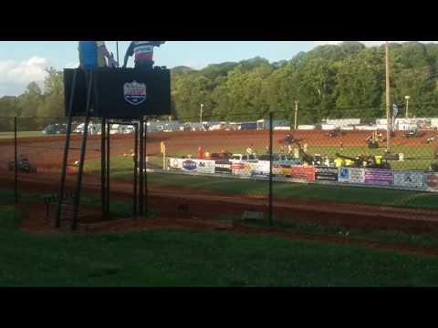 USAC Sprint Car Heat 3  Bloomington Speedway
