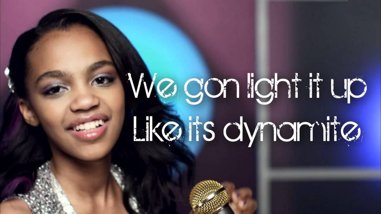 China Anne McClain - Dynamite Lyrics | Musixmatch