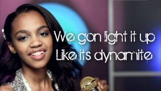 Dynamite | China McClain | Lyrics HD |  A.N.T Farm