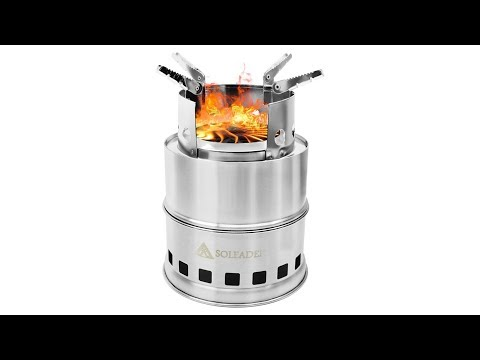 Compact Gasifier Stove