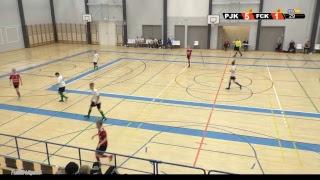 Futsal P14 Liiga PJK - FC Kangasala 15.12.2018