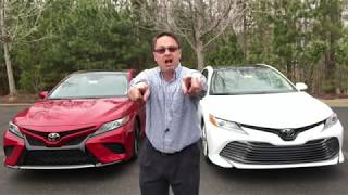 Camry Battle: 2019 XLE vs 2019 XSE...pick your winner!