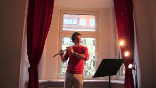 Joachim Andersen Flute Study n°3 op. 15, Sébastian Jacot
