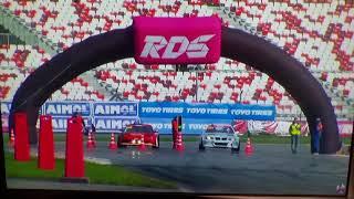 Смотреть видео crash alexgolovnya (авария Алексей Головня) RDS GP (Российская Дрифт Серия)2018 онлайн