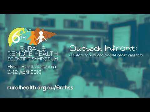 6RRHSS - Plenary Session 4: RESOURCING, ACCESS AND EQUITY