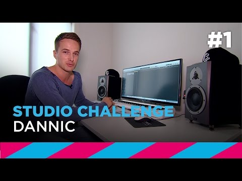 SLAM! Studio Challenge #1: Dannic creates track in 1 hour