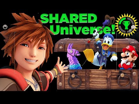 Game Theory: The Fortnite x Kingdom Hearts Crossover   How Doom Unites All Games!