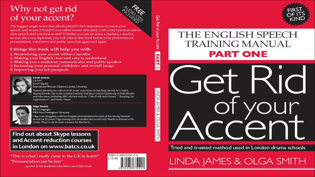 how to get rid of your accent when speaking english