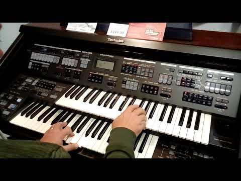 Technics EX70 Organ Demo