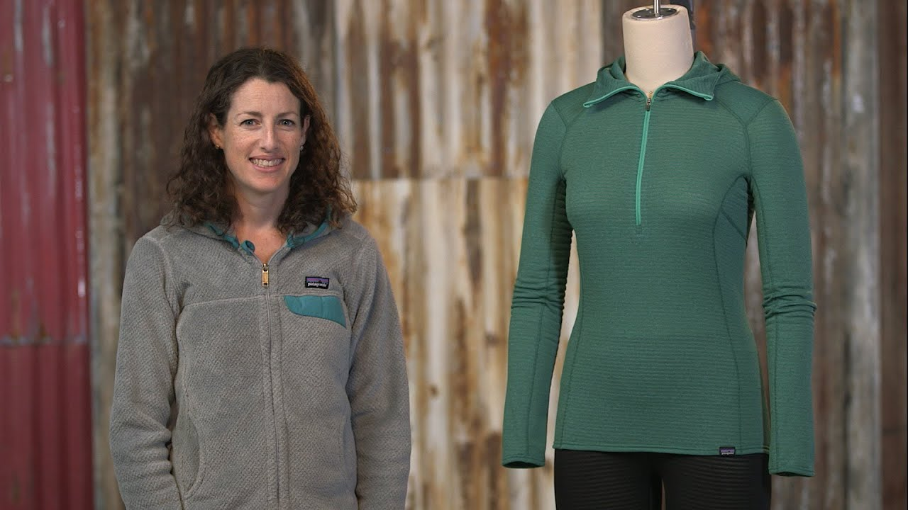 Patagonia Women s Capilene® Thermal Weight Zip-Neck Hoody - YouTube e3df4b57a5f2