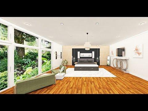 Time Lapse Bedroom Floorplan