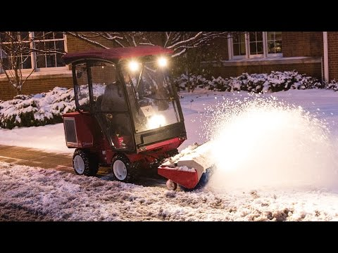 Sidewalk Snow Management By Ventrac©