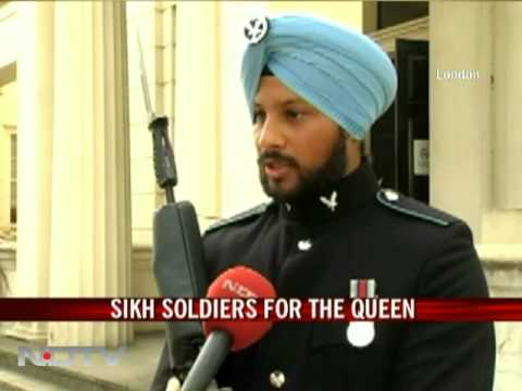 Sikh Soldiers For The Queen