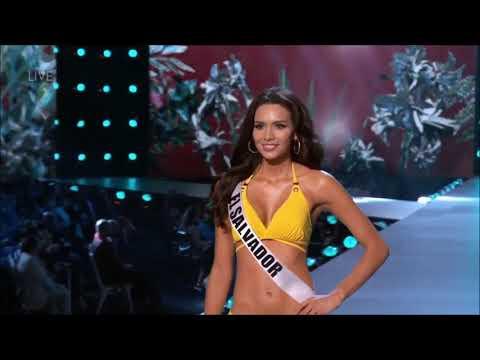 El Salvador Miss Universe 2018 Preliminary Competition