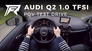 2018 Audi Q2 1.0 TFSI - POV Test Drive (no talking, pure driving)